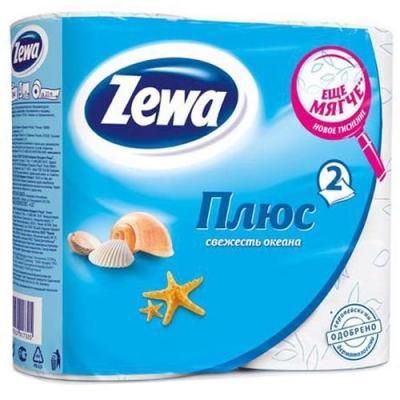 Бумага туалетная Zewa Плюс 2-ух слойная ароматизированная 4 шт 144053