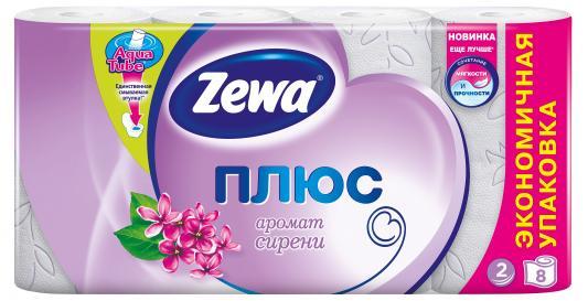 Бумага туалетная Zewa Плюс 2-ух слойная ароматизированная 8 шт 144105