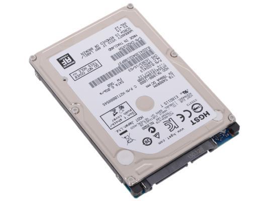 Жесткий диск для ноутбука 2.5 1 Tb 5400rpm 8Mb cache Hitachi 5K1000 SATAIII HTS541010A9E680 0J22413 неисправное оборудование