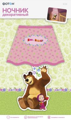 Купить Ночник декоративный Маша и Медведь, Маша и ягоды, ФОТОН, Освещение