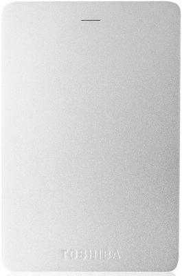 Внешний жесткий диск 2Tb Toshiba Canvio Alu 2ТБ 2.5 USB 3.0 серебро (HDTH320ES3AB)