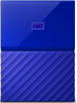 Внешний жесткий диск 2Tb WD WDBLHR0020BBL-EEUE Blue (USB3 , 2.5) it директор it 723 2 5 yingcun usb3 0 hdd enclosure sata последовательный жесткий диск внешний ящик ноутбук ssd твердотельный диск сиденье белый