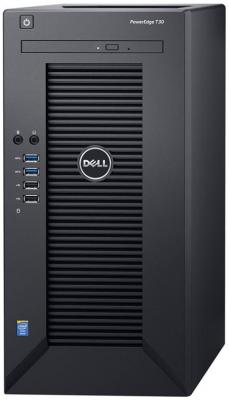 Сервер Dell PowerEdge T30 E3-1225v5 (3.3GHz) 4C, 8GB (1x8GB) UDIMM, 1TB SATA 7.2k 3.5 HDD (3x3.5), SATA RAID, DVDRW, 1GbE, AMT 11.0, Tower, 1Y NBD