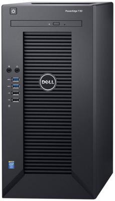 Сервер Dell PowerEdge T30 E3-1225v5, 8GB DDR4, 2x250GB SSD SATA +1TB SATA 7.2k HDD, Intel RSC, DVDRW, 1GbE, AMT11, Tower, 1Y NBD kingfast ssd 128gb sata iii 6gb s 2 5 inch solid state drive 7mm internal ssd 128 cache hard disk for laptop disktop