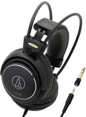 Наушники Audio-Technica ATH-AVC500 Проводные / Накладные / Черный / 10 Гц - 25 кГц / 106 дБ / Одностороннее / Mini-jack / 3.5 мм audio technica ath avc500
