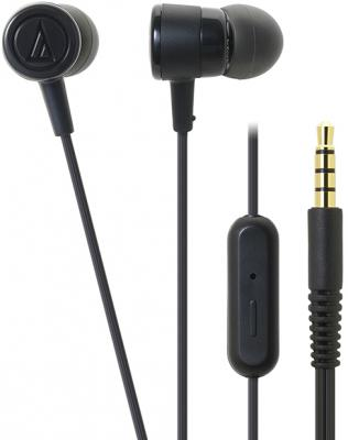 Наушники AUDIO-TECHNICA ATH-CKL220iS BK вставные наушники audio technica ath sr5bt bk