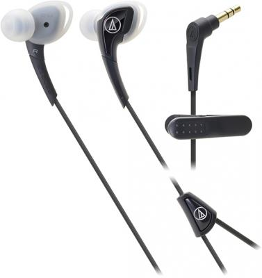 Наушники AUDIO-TECHNICA ATH-SPORT2 BK вставные наушники audio technica ath sport2 black