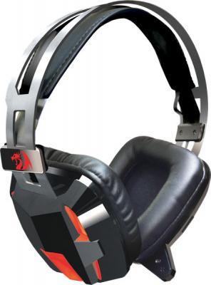 Игровая гарнитура проводная Redragon Lagopasmutus черный красный игровая гарнитура проводная qumo stealth черный 24038