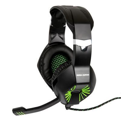 Гарнитура Dialog Gan-Kata HGK-28L черный зеленый цена