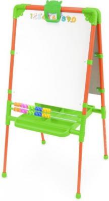 Купить Мольберт Ника М2/О, оранжевый, Мольберты и доски для детей
