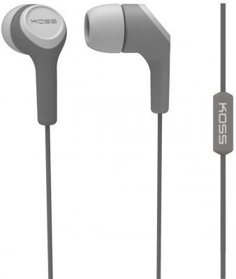 Наушники KOSS KEB15i Grey (микрофон,вставные,1,2м)