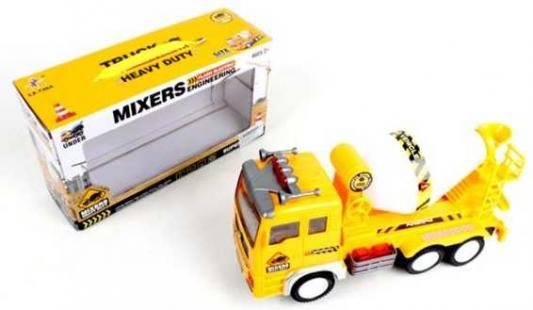 Бетономешалка Наша Игрушка Бетоновоз желтый LX728A игрушка