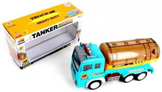 Автомобиль Наша Игрушка Бензовоз голубой LX728B игрушка