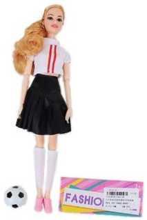 Кукла Наша Игрушка Кукла-болельщица 29 см 104-2A кукла наша игрушка кукла футболист 29 см 104 6a