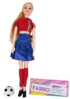 Кукла Наша Игрушка Кукла-болельщица 29 см 104-3A кукла наша игрушка кукла футболист 29 см 104 6a