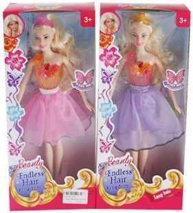 Купить Кукла Наша Игрушка Лилия 29 см со звуком светящаяся 820, пластик, текстиль, Классические куклы и пупсы