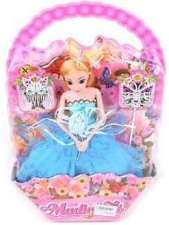 Купить Кукла Наша Игрушка Кукла Эмма 29 см 3322C, пластик, текстиль, Классические куклы и пупсы