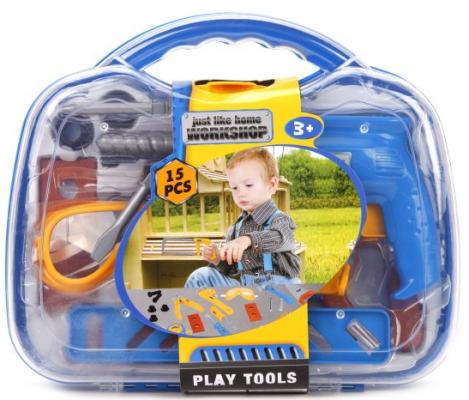 Игровой набор Наша Игрушка Набор инструментов 15 предметов игровой набор наша игрушка набор медсестры 13 предметов
