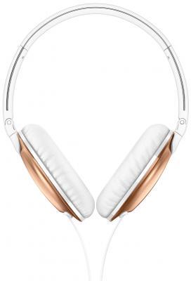Наушники Philips SHL4805RG/0 золотой (с микрофоном , 1,2м) наушники с микрофоном philips she3855sl 00