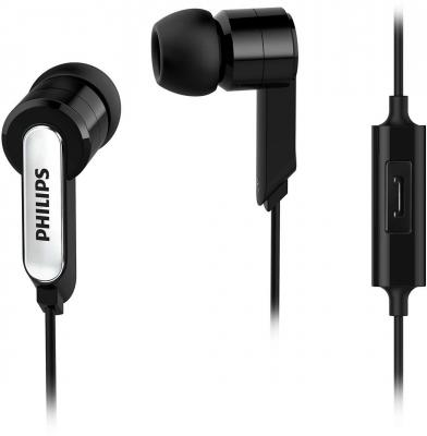 цена на Наушники Philips SHE1405BK/10 черный