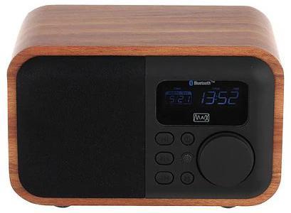 Радиоприемник MAX MR-332 Bluetooth, FM радио, MP3/WMA с USB/microSD,Li-ion аккумулятор, Время работы более 8 часов, цвет Brown Wood/Black г в калягин конкурентоспособность кооперации в переходной экономике институциональный подход учебное пособие