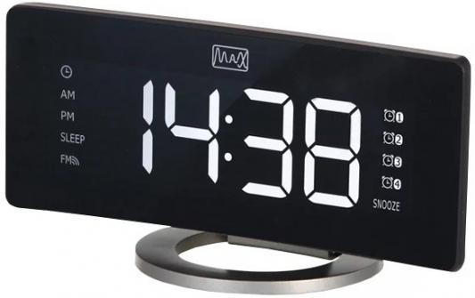 цена на Часы с радиоприёмником Max CR-2915 чёрный