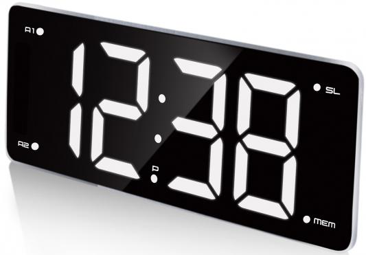 купить Часы с радиоприёмником Max CR-2911 чёрный по цене 2750 рублей