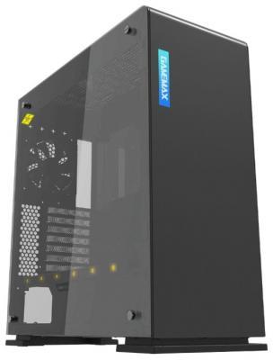 GameMax Корпус [9909(909) Vega black Perspex] (Midi Tower, ATX, black+ Perspex, RGB LED) (без БП) корпус gamemax g535 cr black