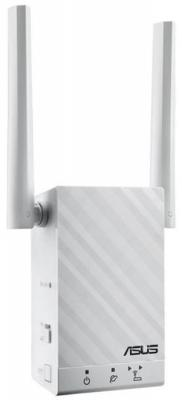 Усилитель сигнала ASUS RP-AC55 802.11nac 1167Mbps 5 ГГц 2.4 ГГц 1xLAN LAN белый недорого