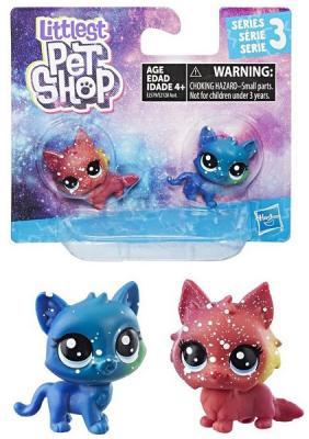 Набор фигурок Hasbro Littlest Pet Shop в ассортименте littlest pet shop набор фигурок в9358 е0463