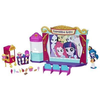 Игрушка Hasbro MLP Equestria Girls Игровой набор мини-кукол Кинотеатр