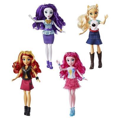 Купить Кукла HASBRO Май Литл Пони Девочки Эквестрии E0348, пластик, текстиль, Классические куклы и пупсы