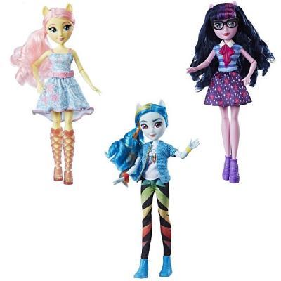 Купить Кукла HASBRO Май Литл Пони Девочки Эквестрии E0349, пластик, текстиль, Классические куклы и пупсы
