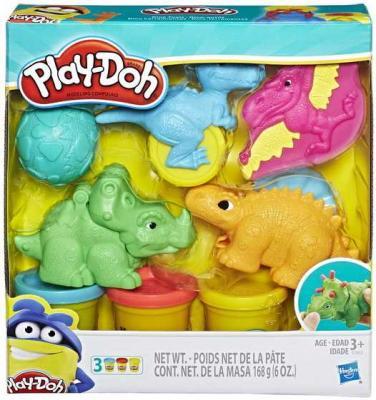 Игровой набор Hasbro Play - Doh Плей-ДоМалыши-Динозаврики hasbro play doh b3415 игровой набор пожарная станция