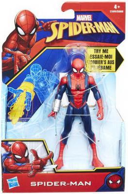 Купить Игрушка Hasbro Spider - man фигурка ЧЕЛОВЕК-ПАУК с аксесс., 15 см, Детские фигурки