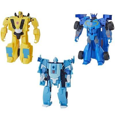 Робот-трансформер Hasbro Кибервсел Уан Степ E3522 цена