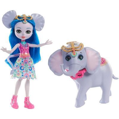 Купить Игрушка Enchantimals Куклы с большими зверюшками FKY73, MATTEL, пластик, текстиль, Классические куклы и пупсы