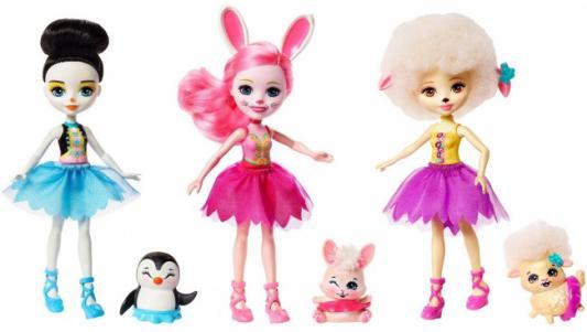 Набор кукол MATTEL Волшебные балерины 5 см