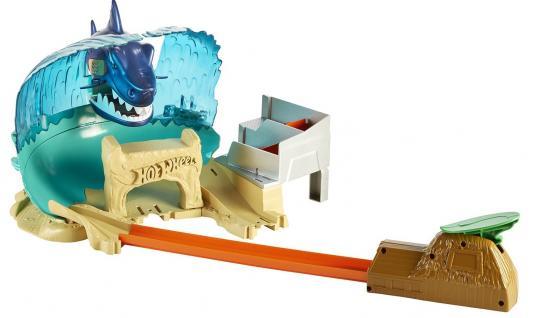 Купить Hot Wheels® Сити Игровой набор Схватка с акулой , MATTEL, Пластик, металл, Для мальчиков, Гаражи, парковки, треки