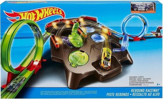 Купить Игровой набор Гоночная Трасса Рикошет , MATTEL, Пластик, Для мальчиков, Гаражи, парковки, треки