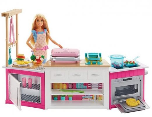 Кухня MATTEL Супер кухня с куклой