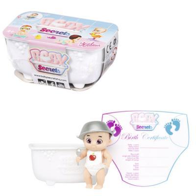 Кукла ZAPF Creation Бэби Секрет Кукла с ванной 6 см 930-137