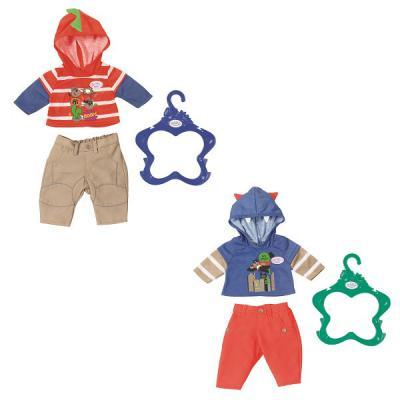 Одежда для кукол Zapf Creation Одежда для мальчика куклы и одежда для кукол zapf creation baby annabell памперсы 5 штук