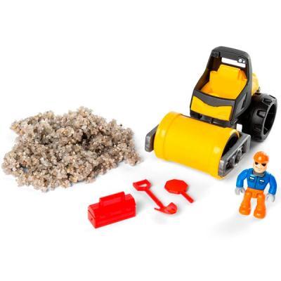 Песок для лепки Kinetic Sand серия Rock.141 грамм, машина, аксессуары цена