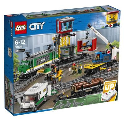 Конструктор LEGO Товарный поезд 60198