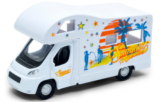 Автомобиль Welly Camper Van белый 92658 2m motorhome vinyl stripes graphics kit stickers decals set camper van rv caravan travel trailer horsebox