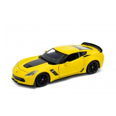 Автомобиль Welly Chevrolet Corvette 1:24 цвет в ассортименте автомобиль jada toys ford coe 1 24 в ассортименте