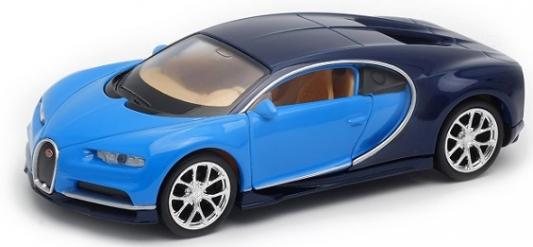 Автомобиль Welly Bugatti Chiron 1:38 синий 43738