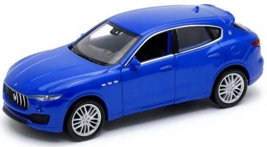 Автомобиль Welly Maserati Levante 1:38 синий 43739