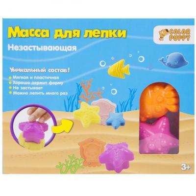 Набор незастывающей массы для лепки Подводный мир, 40г, аксессуары